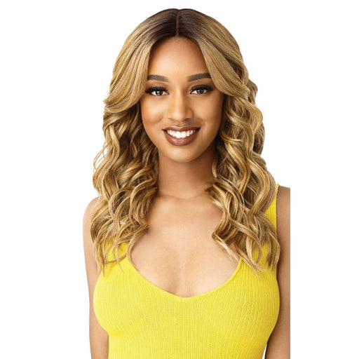 KIMBRA | Outre The Daily Synthetic Lace Part Wig - Hair to Beauty | Color Shown: DR/CARAMEL