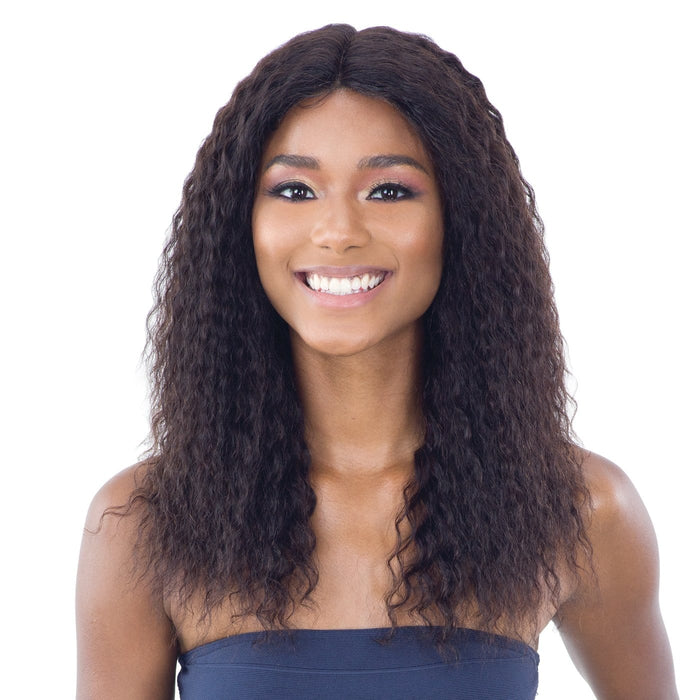 KINA | Unprocessed Human Hair C-Part Lace Front Wig.