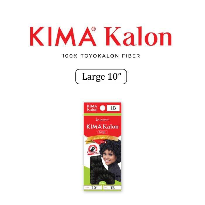 "KKL10L | Kimakalon Large 10"" Synthetic Braid."