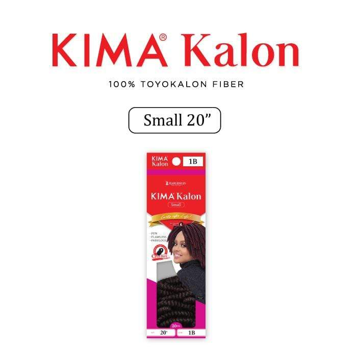 KKS20L | Harlem125 Kimakalon Small 20 Inch Synthetic Braid - Hair to Beauty | Harlem125 Color Shown : T1B/BG
