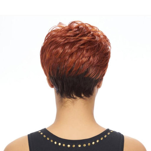 KW001 | Kima Synthetic Wig - Hair to Beauty | Color Shown: COPPER/4B