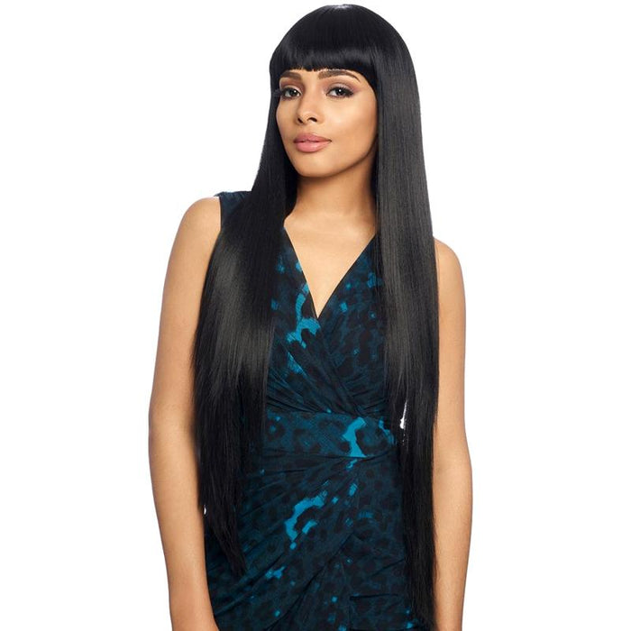 KW900 | Harlem125 Kima Synthetic Wig - Hair to Beauty | Harlem125 Color Shown : 1B