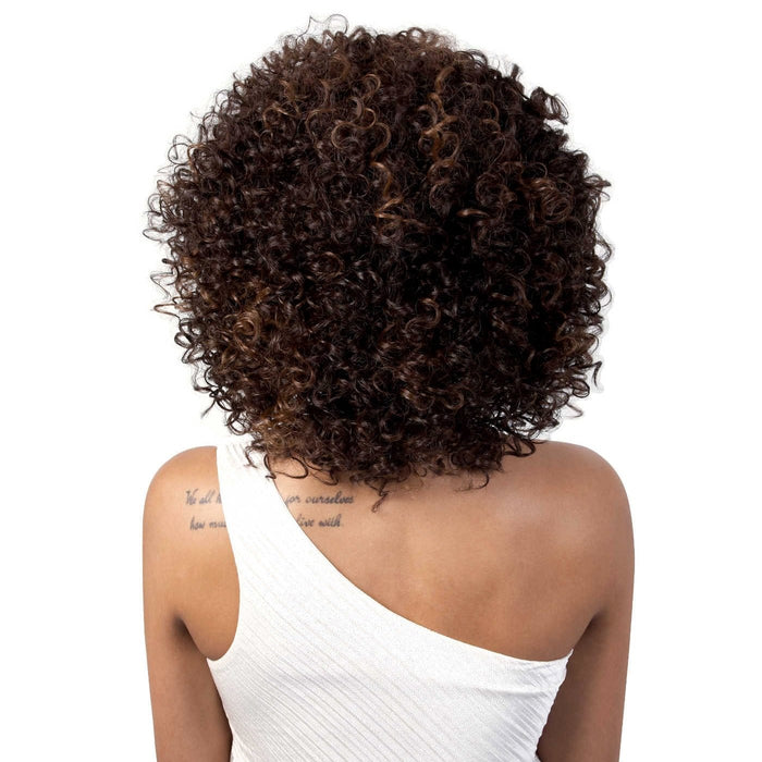 L.DORA | Motown Tress Let's Lace Synthetic Swiss Lace Front Wig - Hair to Beauty | Color Shown: F4/30
