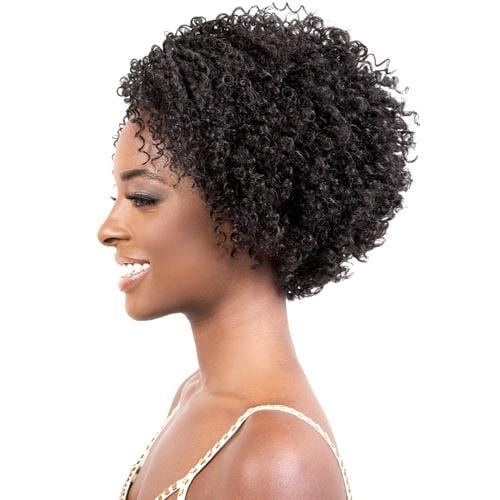 L. MIKI | Motown Tress Let's Lace Synthetic Deep Part Lace Wig - Hair to Beauty | Color Shown: 1B