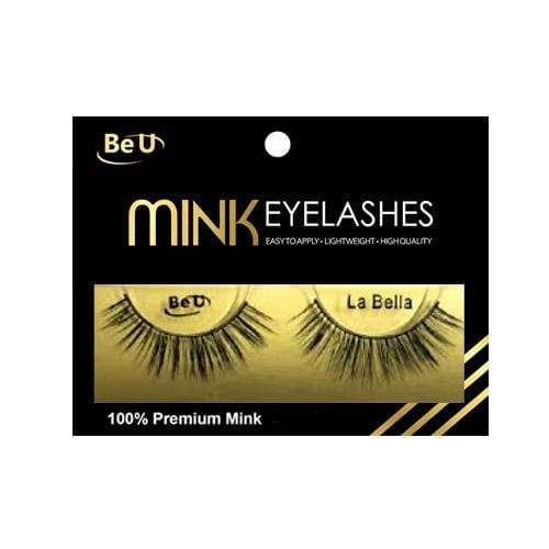 BE U | Mink Eyelashes LA BELLA - Hair to beauty