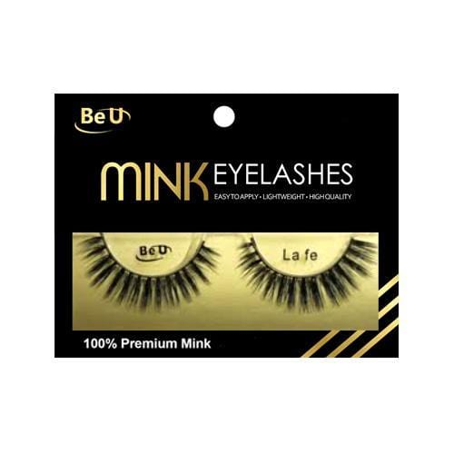 BE U | Mink Eyelashes LA FE - Hair to beauty