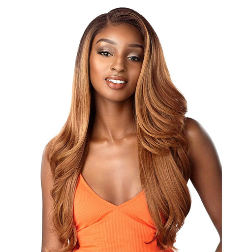 UNIT 7 | Sensationnel Instant Fashionable Style Dashly Lace Wig - Hair to Beauty | Color Shown : MPHAZEL
