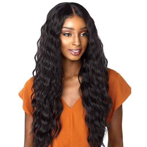 LAISHA | Sensationnel Empress Shear Muse Synthetic Lace Front Edge Wig - Hair to Beauty | Color Shown: 1B