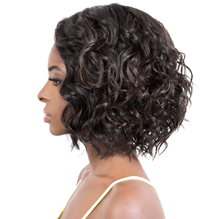 LDP-MIU | Motown Tress Synthetic Deep Part Lace Wig - Hair to Beauty | Color Shown: F1B/30