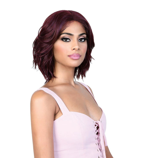 LDP-RUTH | Lets Lace Deep Part Lace Front Wig - Hair to Beauty | Color Shown: PLUM
