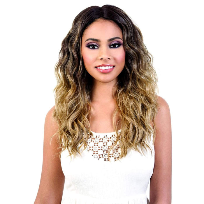 LDP-SPIN63 | Let's Lace Synthetic Deep Spin Part Lace Front Wig.