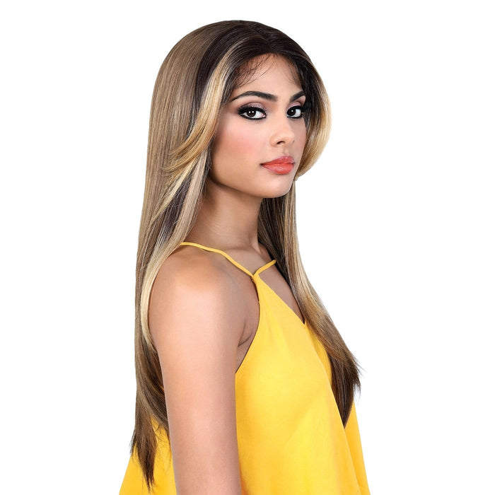 LDP-TOVA | Lets Lace Deep Part Lace Front Wig - Hair to Beauty | Color Shown: OFH27/BLONDE