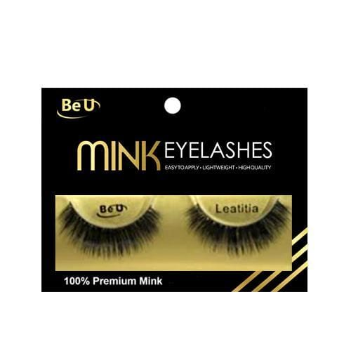 BE U | Mink Eyelashes LEATITIA - Hair to beauty
