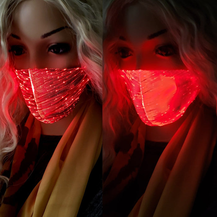 BE U | LED Light Up Face Mask 2 - Hair to Beauty