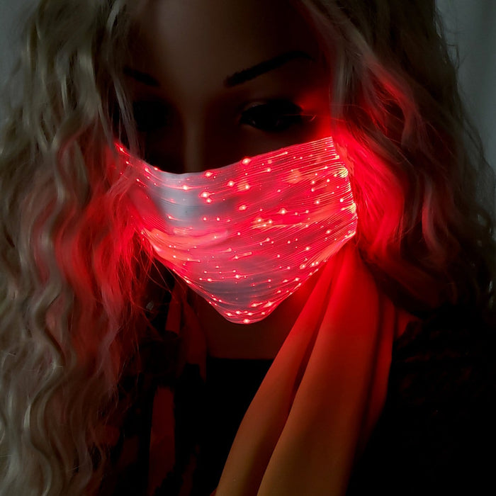 BE U | LED Light Up Face Mask Square - Hair to Beauty