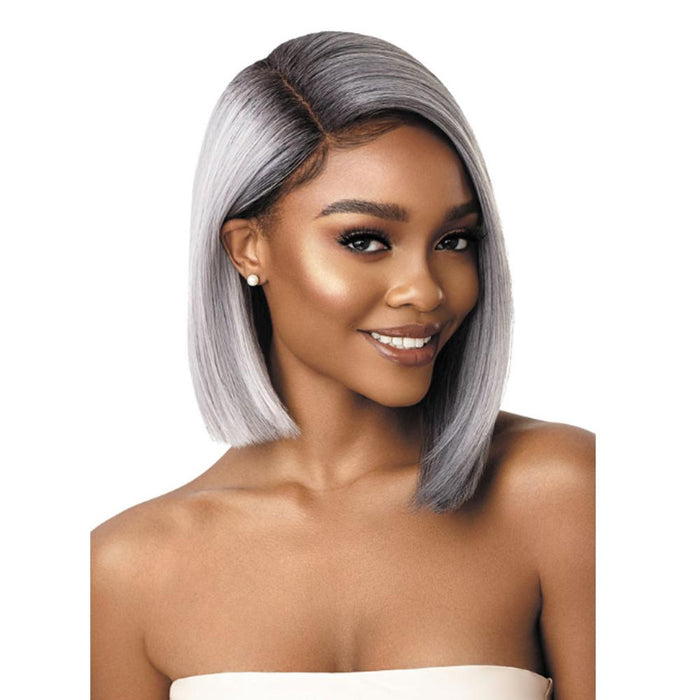 LENI | Synthetic Swiss Lace Front Wig.
