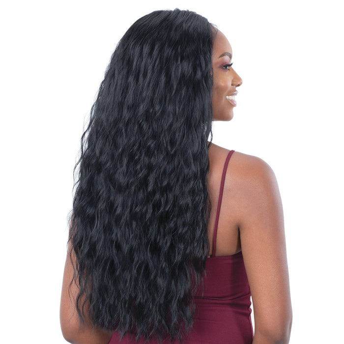 LITE LACE 001 | Lace Front Wig - Hair to Beauty | Color Shown: 1B