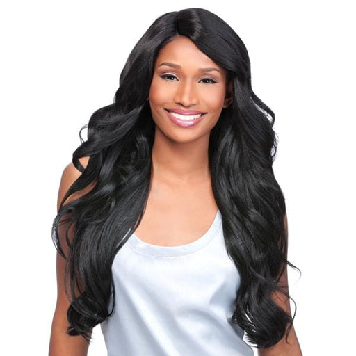 LOOSE BODY | Sensationnel Empress Custom Synthetic Lace Front Wig - Hair to Beauty | Color Shown: