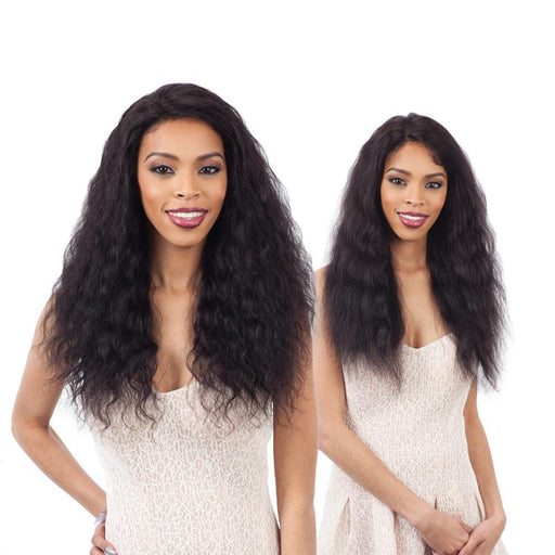 LOOSE DEEP | Human Hair Lace Front Wig - Hair to Beauty | Color Shown : NATURAL