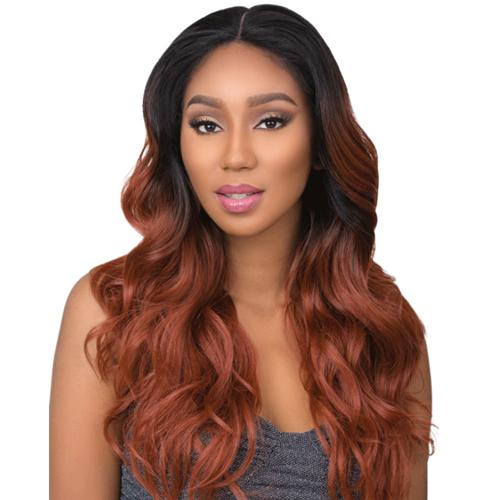 VIXEN LOOSE WAVE 24 INCH | Sensationnel Cloud9 Synthetic 4-Way Multi Parting Swiss Lace Front Wig - Hair to Beauty | Color Shown: