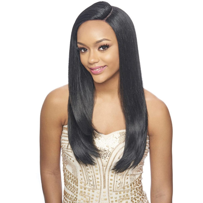 LSD30 | Harlem125 Synthetic Swiss Lace Multi Deep Part Wig - Hair to Beauty | Harlem125 Color Shown : 1B