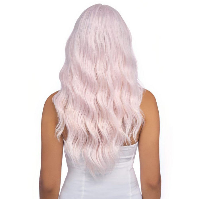 LSD40 | Synthetic Swiss Lace Front Wig - Hair to Beauty | Color Shown: GOLD & ROSE