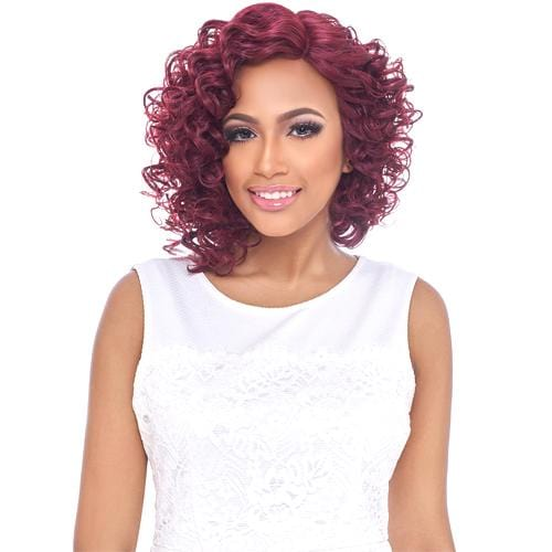 LSD71 | Harlem125 Synthetic Swiss Lace Front Wig - Hair to Beauty | Harlem125 Model Color: GD998