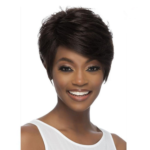 LUCAS | Brazilian Remi Human Hair Wig - Hair to Beauty | Color Shown: NATURAL