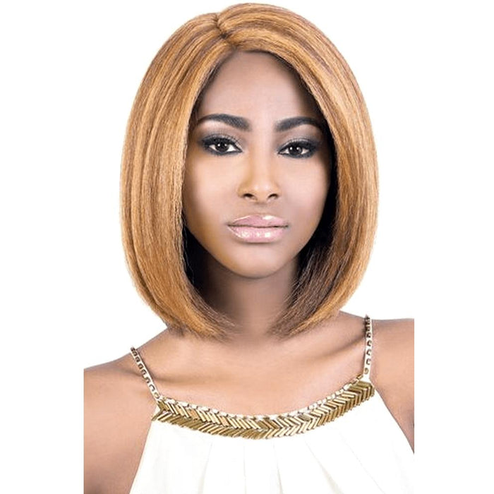 LXP. KRIS | Motown Tress Let's Lace Synthetic Extra Deep Part Lace Front Wig - Hair to Beauty | Color Shown: DX27/33