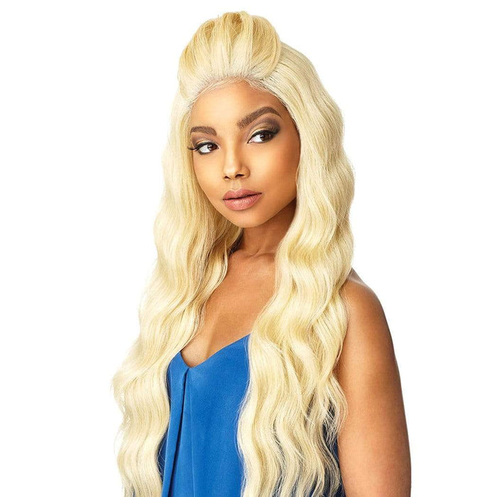 LYANA | Sensationnel Cloud9 What Lace? Synthetic 13X4 Swiss Lace Part Wig - Hair to Beauty | Color Shown: 613