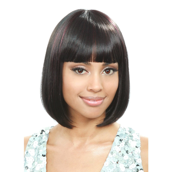 M244 BIJU | Bobbi Boss Synthetic Wig - Hair to Beauty | Color Shown: FS2963