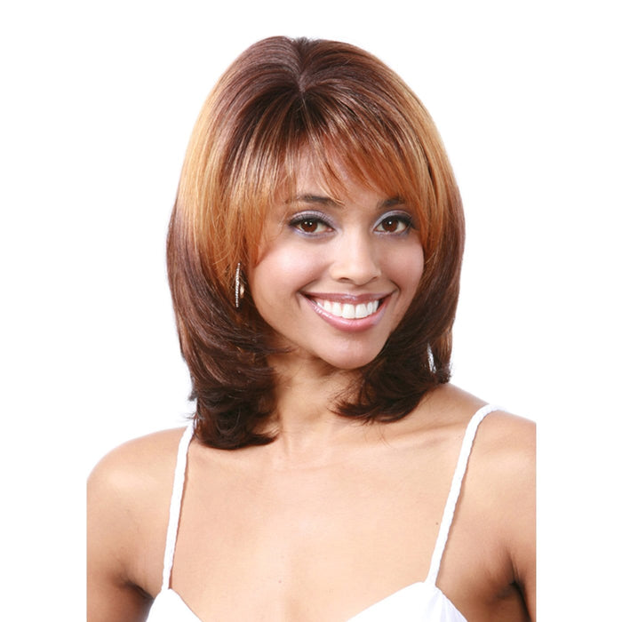 M623 FAGO | Bobbi Boss Synthetic Wig - Hair to Beauty | Color Shown: 3T333