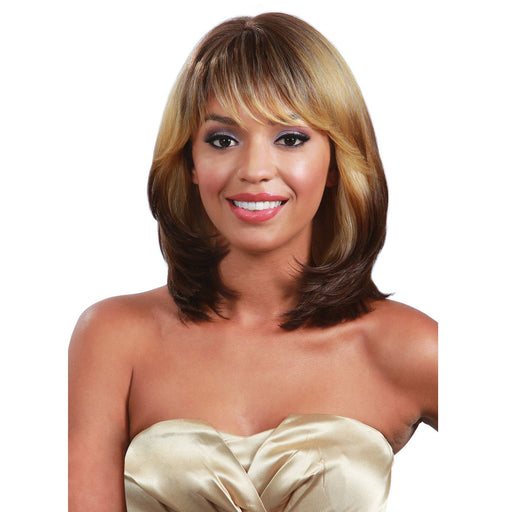 M679 NICOLE | Bobbi Boss Synthetic Wig - Hair to Beauty | Color Shown: 3T270