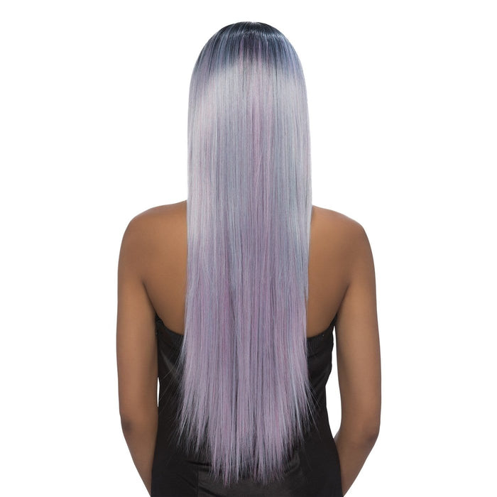 MARIA | Synthetic Lace Front Wig - Hair to Beauty | Color Shown: STT1B/LAVENDER