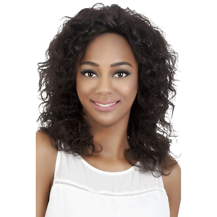 MARIGOLD | Vivica A. Fox Brazilian Remi Human Hair Full Swiss Lace Front Wig - Hair to Beauty | Color Shown: NATURAL