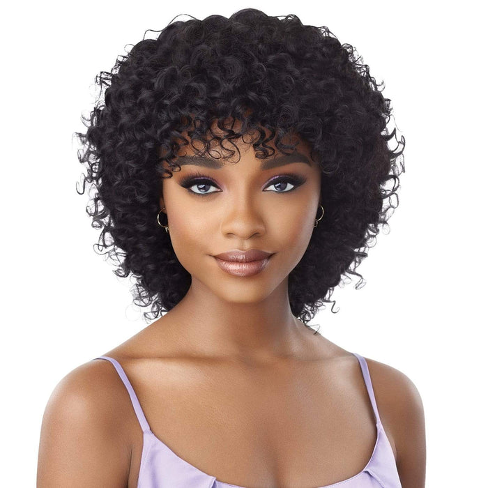 MAYRA - Outre Mytresses Purple Label Human Hair Full Wig - Hair To Beauty | Color Shown : Natural Brown