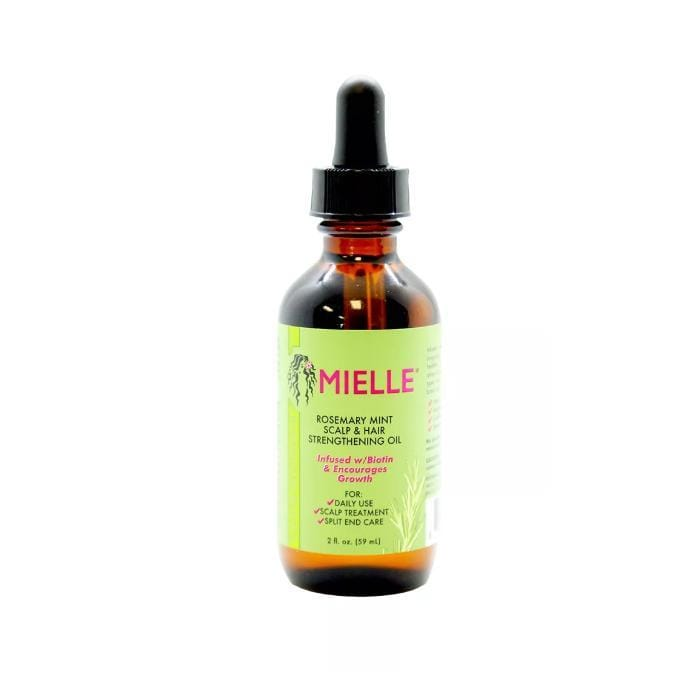 MIELLE | Rosemary Mint Scalp & Hair Strengthening Oil 2oz -Hair to beauty
