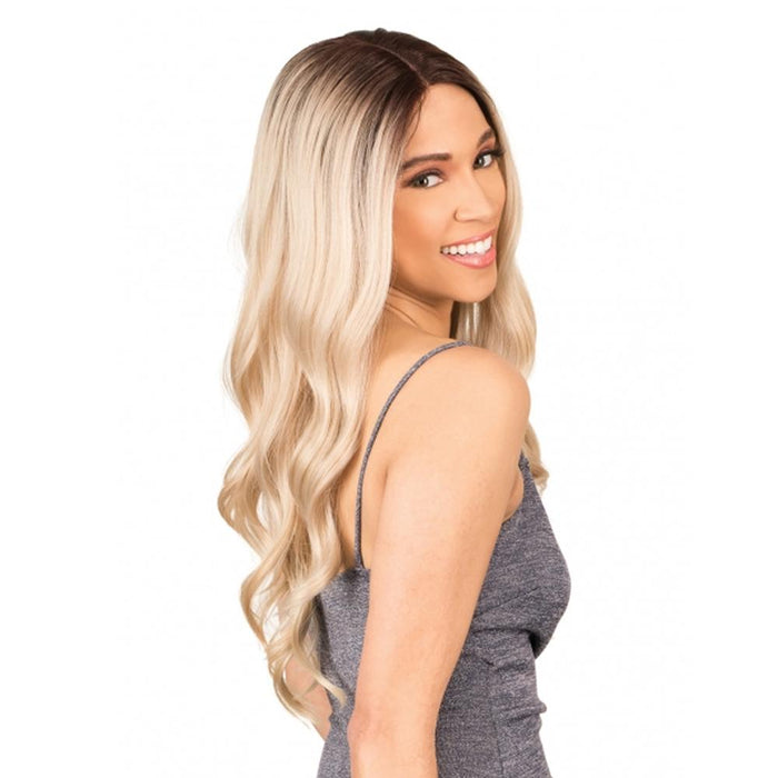 MLI309 | Magic Synthetic Lace Front Wig - Hair to Beauty | Color Shown : DYX/VANILLA