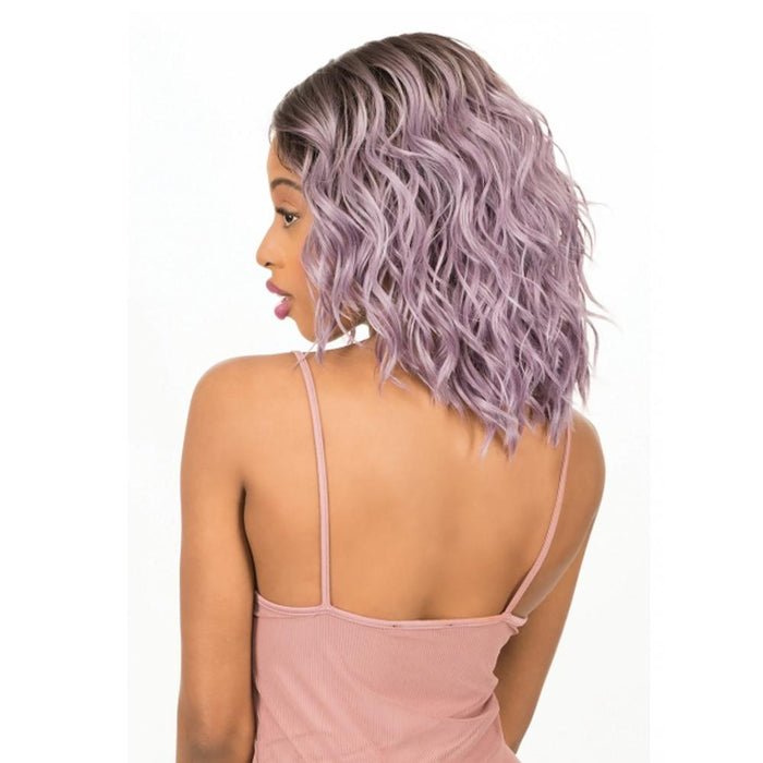 MLI316 | Magic Synthetic Lace Front Wig - Hair to Beauty | Color Shown : DYX/LILAC