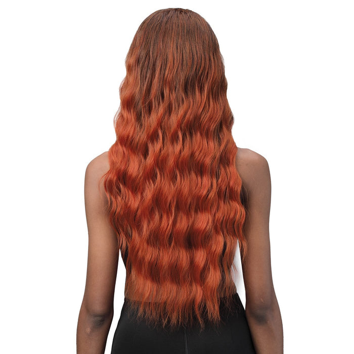 MOGFC005 BEACH WAVE | Miss Origin Full Cap Wig - Hair to Beauty | Color Shown: T1B/350