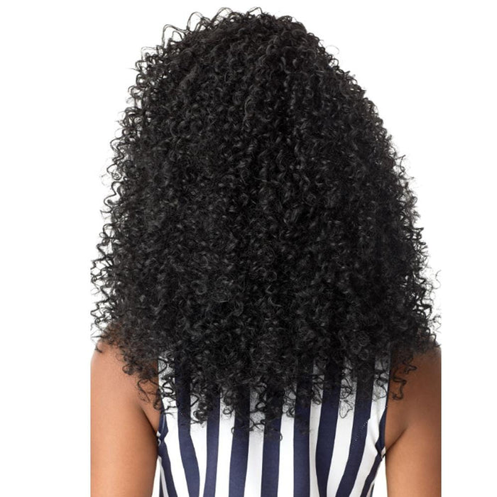 3C MOONLIGHT MAVEN | Big Beautiful Hair Synthetic Half Wig - Hair to Beauty | Color Shown: 1B