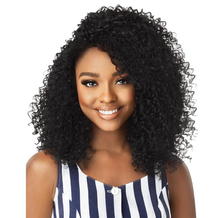 3C MOONLIGHT MAVEN | Big Beautiful Hair Synthetic Half Wig.
