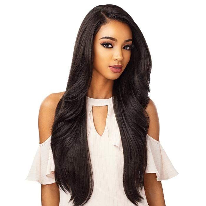 MORGAN | Sensationnel Cloud9 What Lace? Synthetic 13X6 Swiss Lace Frontal Wig - Hair to Beauty | Color Shown: