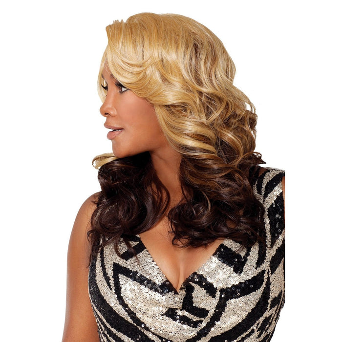 NAPOLI | Vivica A. Fox Synthetic Deep Lace Front Wig - Hair to Beauty | Color Shown: GM234
