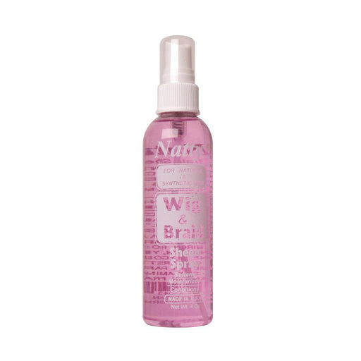 NATTY | Wig & Braid Sheen Spray 4oz - Hair to beauty
