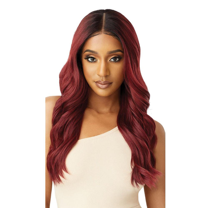 NATALIA | Melted Hairline Lace Front Wig - Hair to Beauty | Color Shown: DR2/CINNAMON WINE