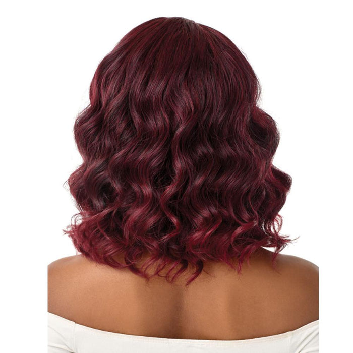 NATINA | Quick Weave Synthetic Half Wig - Hair to Beauty | Color Shown: 2T1/425