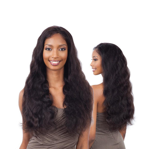 NATURAL 101 | Human Hair Lace Front Wig - Hair to Beauty | Color Shown : NATURAL