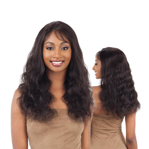 NATURAL 501 | Human Hair Whole Lace Wig - Hair to Beauty | Color Shown : NATURAL