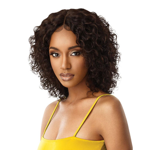 NATURAL BOHO JERRY | Mytress Gold Label Human Hair Lace Front Wig - Hair to Beauty | Color Shown: NATURAL BROWN